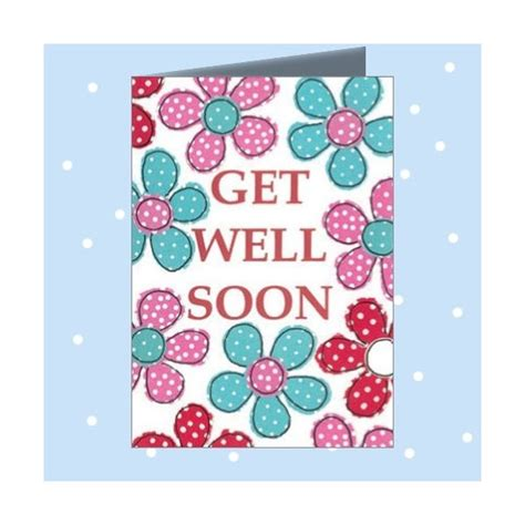 well cards get well soon greeting card