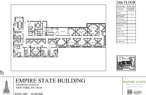 Layout Of The Empire State Building | gallery for gt empire state building layout