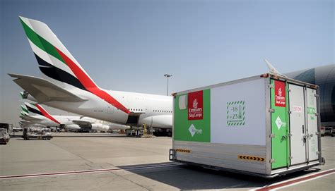 emirates skycargo keeps perishables fresh with emirates skyfresh ajot