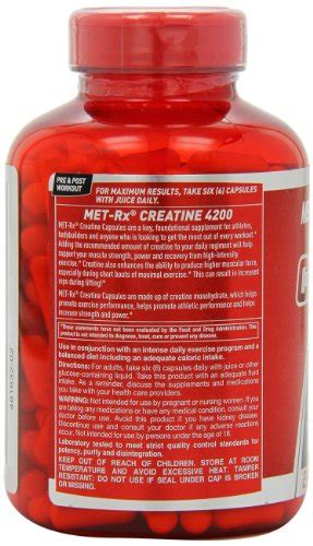 Me Rx Creatine 4200 Eceran 60 Caps met rx creatine 4200 diet supplement capsules 240 count healthy commodity store