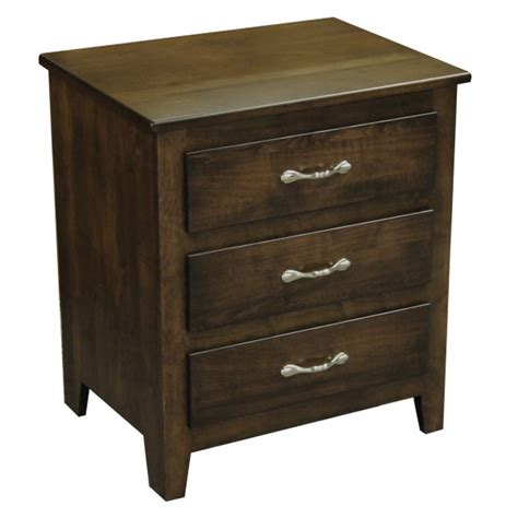Nadine Collection Nightstand Amish Crafted - economy collection nightstand amish crafted furniture