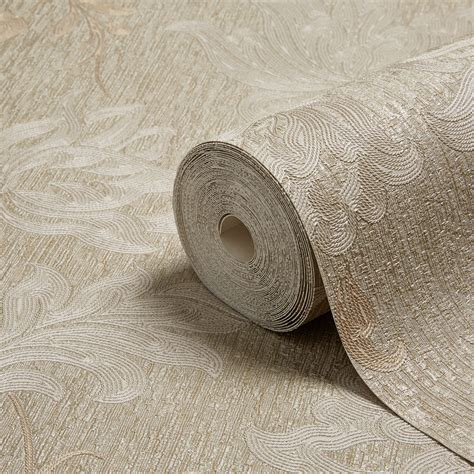 opus argentino gold floral trail wallpaper departments