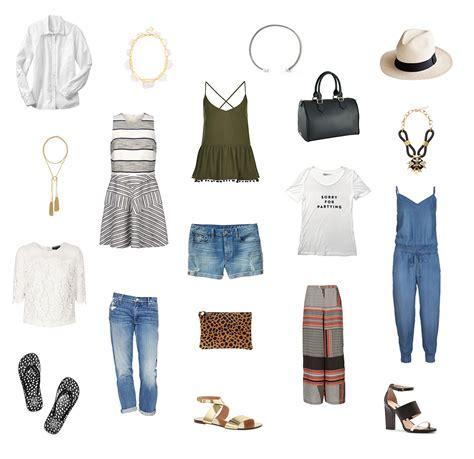 Essential Summer Wardrobe by Summer Wardrobe Wants Allyson In