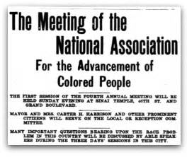 national association of colored the meeting of the national association for the