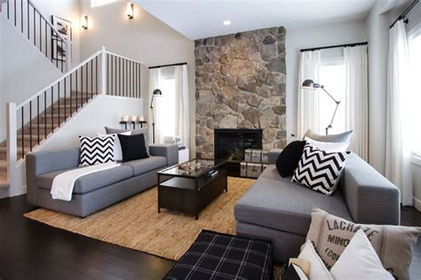 Decorating Ideas Casual Living Rooms Nfid Cottage Casual Contemporary Living Room Calgary