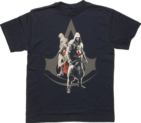 Assassin S Creed 4 T Shirt assassins creed duo logo youth t shirt