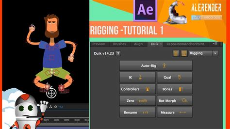 tutorial after effects duik curso after effects rigging duik tutorial 1 youtube