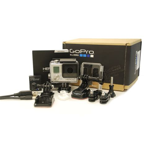 gopro ebay gopro 3 silver edition camcorder