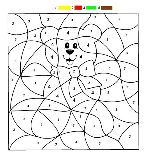 coloring pages for esl students teaching esl materials and more color by number pages