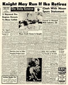daily review newspaper archives oct 7 1955