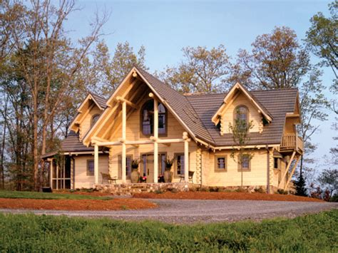 sitka rustic country log home plan 073d 0021 house plans