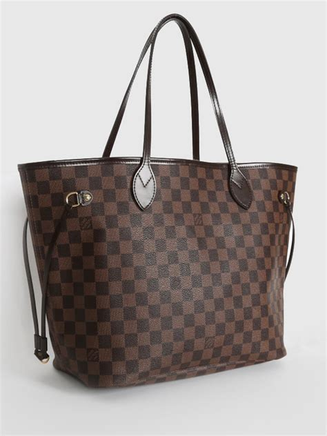 Ultra Exclusive Bags From Louis Vuitton by Louis Vuitton Neverfull Mm Damier Canvas Ebene Luxury Bags