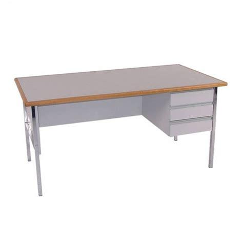 office furniture hire prestige office desk grey
