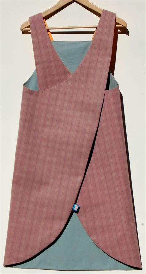 Pattern For Crossover Apron | reversible japanese crossover back apron in waterproof