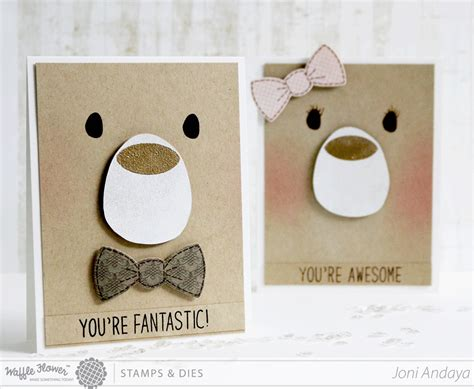 Handmade Cards For Children - papell with card for