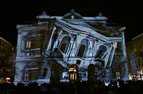 Proyektor Mapping projection mapping in hyper sonic audio visual