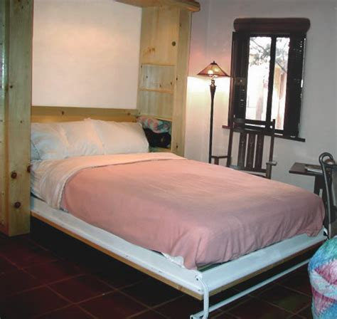exotic wood murphy bed colorado lodge pole  flyingbeds flyingbeds