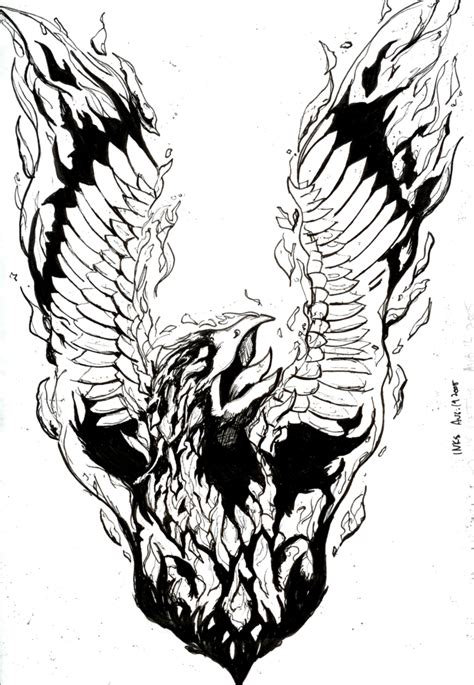 black and white phoenix tattoo designs tattoos and designs page 71