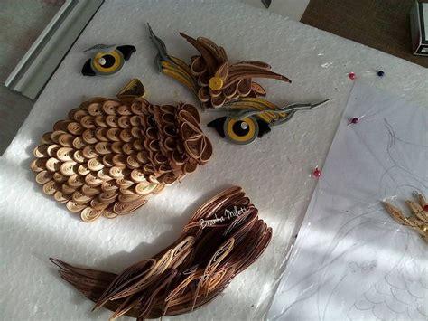 tutorial quilling gufo quilling owl tutorial by branka miletic qiulling