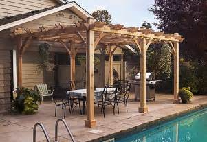 Pergola Kits Prices by Pergola Kits For Sale Cedar Wood Outdoor Living Today
