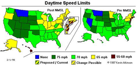 speed limit map texas national maximum speed