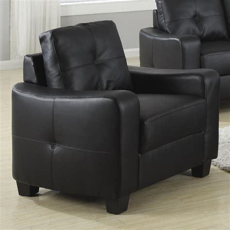 Micheals Furniture by Coaster Bonded Leather Chair Michael S Furniture
