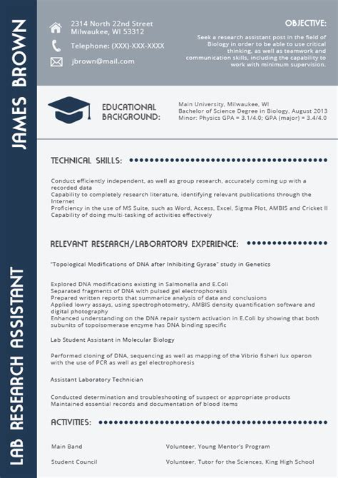 Resume For Project Manager In 2016 2017 Resume 2018 Best Resume Template 2016