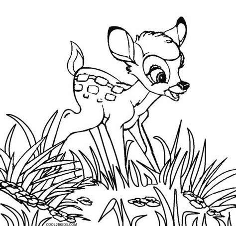 bambi and faline coloring pages coloring pages
