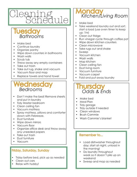 achieving creative order monthly organizing checklists are back