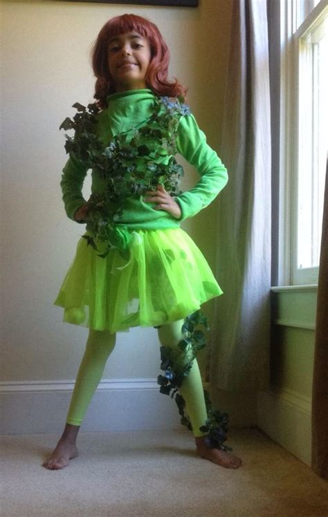Handmade Poison Costume - poison costume kid play