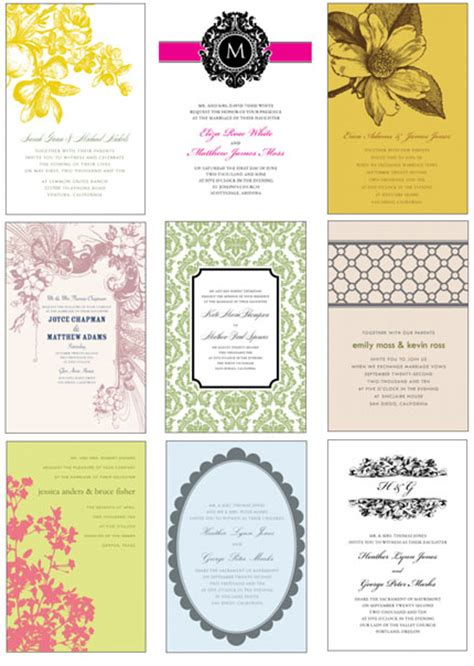 wedding invitation free template free wedding invitation card templates