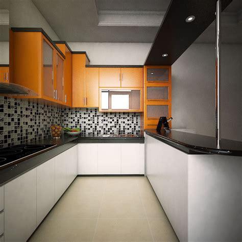 Songkok Kalbut Putih Atas Warna semarak desain dapur