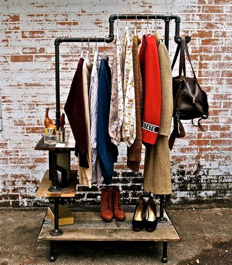 Industrial Pipe Clothing Rack by Get Rich Or Diy Tryin Industrial Clothing Rack