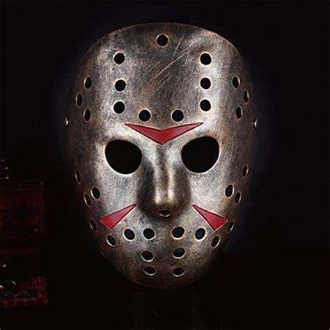 jason killer killer jason resin mask for costume gold