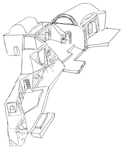 B V Doshi Sketches by Balkrishna Doshi Forges An Architecture Of Place In An Age