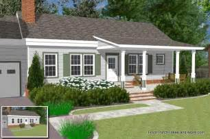 ranch home plans with front porch raised ranch front porch ideas studio design gallery