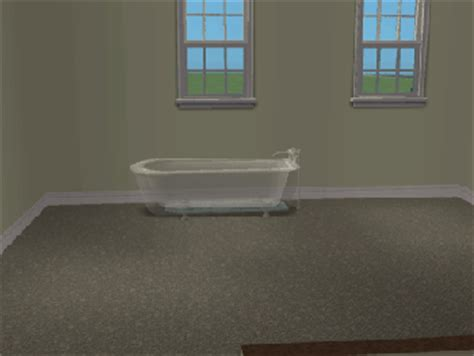 recolor bathtub mod the sims transparent bathtub recolor update added