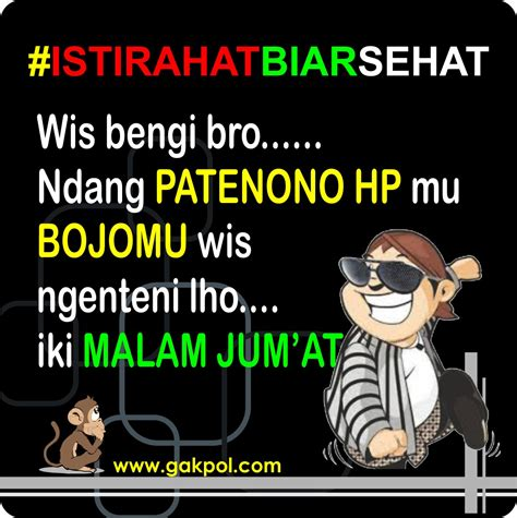 Bahasa Jawa kumpulan meme lucu malam jumat bahasa jawa kumpulan