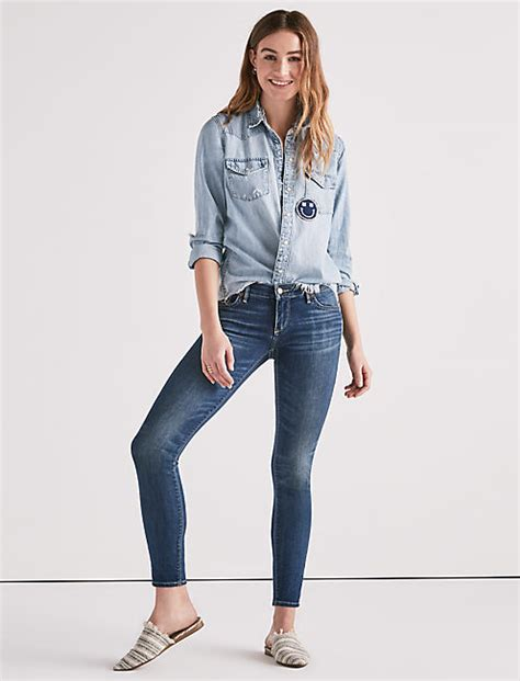 Low Rise low rise for lucky brand