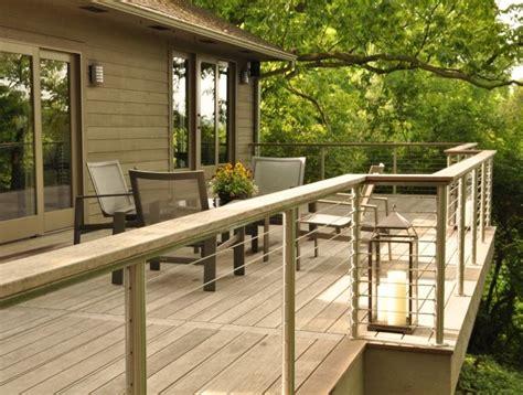 Handlauf Terrasse by Garde Corps Ext 233 Rieur Sur Le Balcon Designs Et Mat 233 Riaux