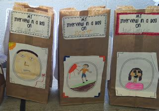 Biography Book Report In A Bag by Stellar Students The Second Grade Educents Bundle