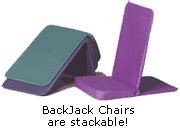 Backjack Anywhere Chair by Backjack Chair