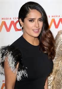 salma hayek salma hayek at 2016 s media center awards in new york 09 29 2016 hawtcelebs
