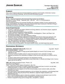 engineering internship resume template engineering intern engineer sle resume