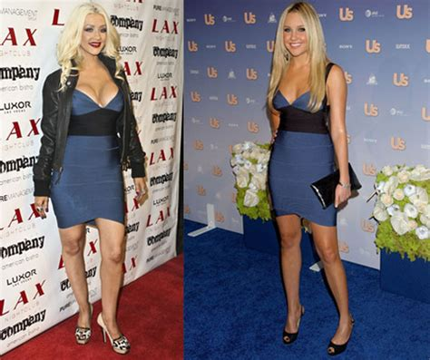 Who Wore Herve Leger Better Amanda Bynes Or Khloe by Who Wore It Better Herve Leger Bandage Dress Popsugar