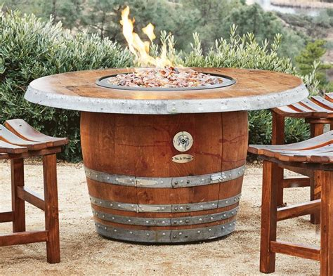 Shed Wooden Barrel Stools by 8 Stunning Uses For Wine Barrels