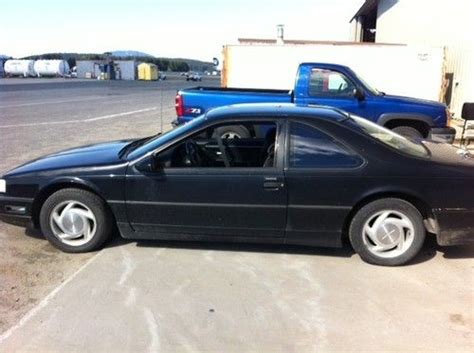 automobile air conditioning service 1990 ford thunderbird navigation system purchase used 1990 ford thunderbird super coupe coupe 2 door 3 8l in juneau alaska united