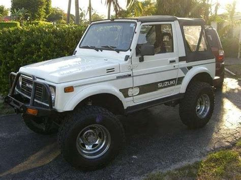 1988 Samurai Suzuki Suzuki Sidekick For Sale Autos Post