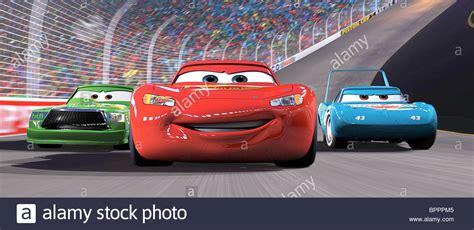 Cars King hicks lightning mcqueen the king cars 2006 stock