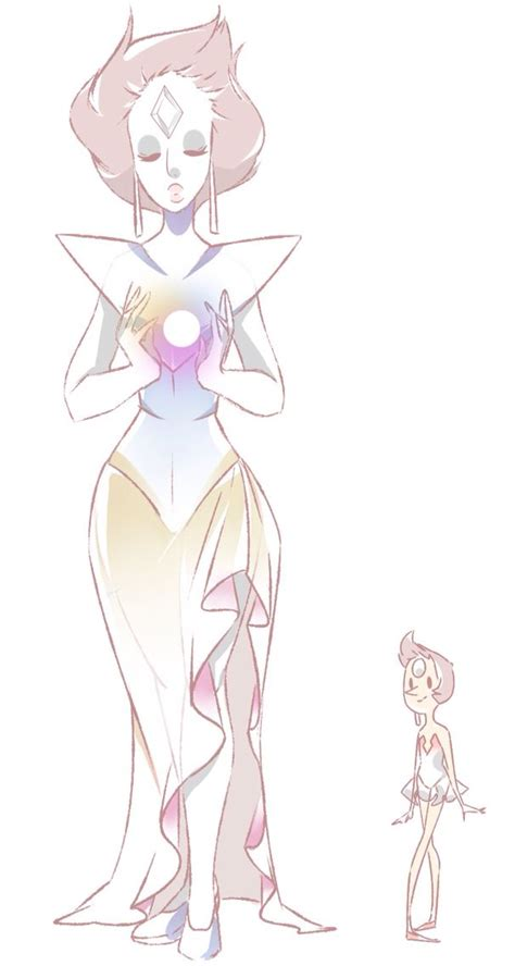 white opal gemsona that s a great idea then white gives jer pearl to